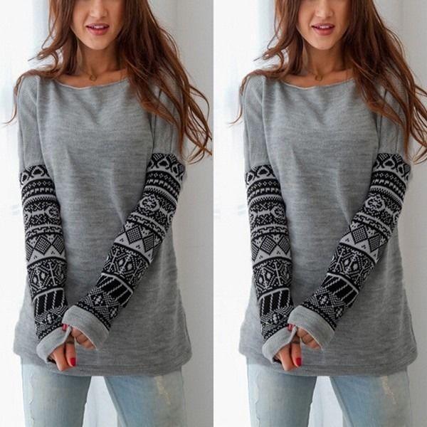 Wyprzedaż sweter z dzianiny kobiety swetry i swetry 2015 moda casual jesień zima dorywczo z długim rękawem dzianina jumper długi sweter