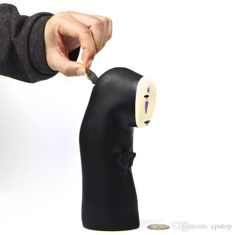 2017 حماسي بعيدا لا وجه kaonashi روح عملة البنك لعبة عمل الشكل مجهولي الهوية رجل أصبع البنك الطفل movietv اللعب