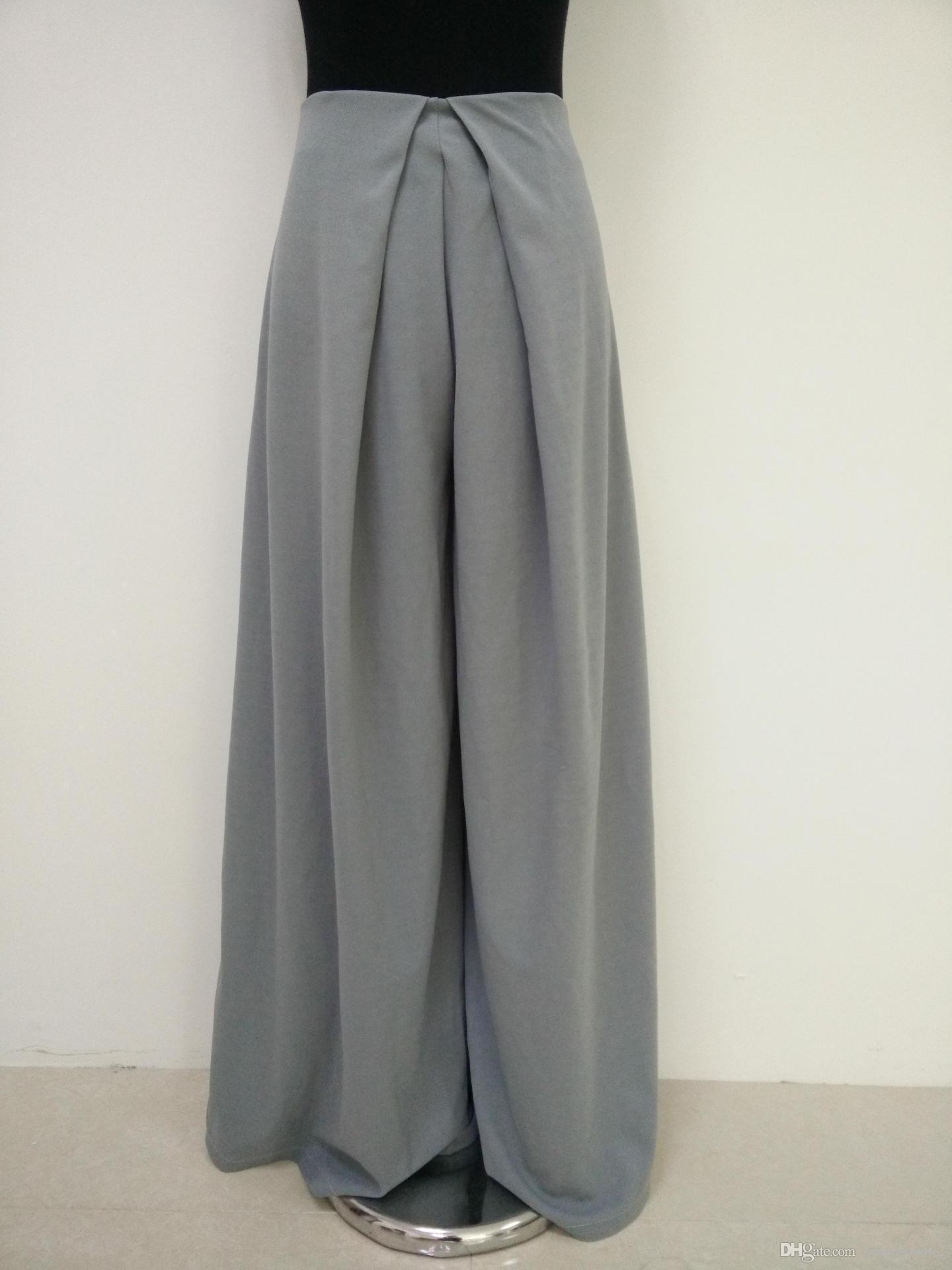 l'atteggiamento migliore 02702 8522a Acquista Pantaloni Gamba Larga Pantalones Mujer 2017 Donne Pantaloni Moda  Estate Vita Alta Più Le Dimensioni Pantaloni Larghi Donne A $10.05 Dal ...