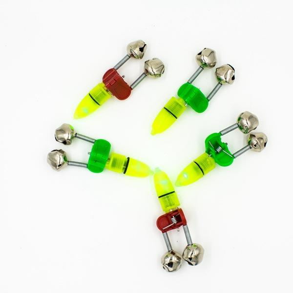 Electronic bell alarm lamp light green special offer fishing supplies, fishing gear accessories set fishing tackle