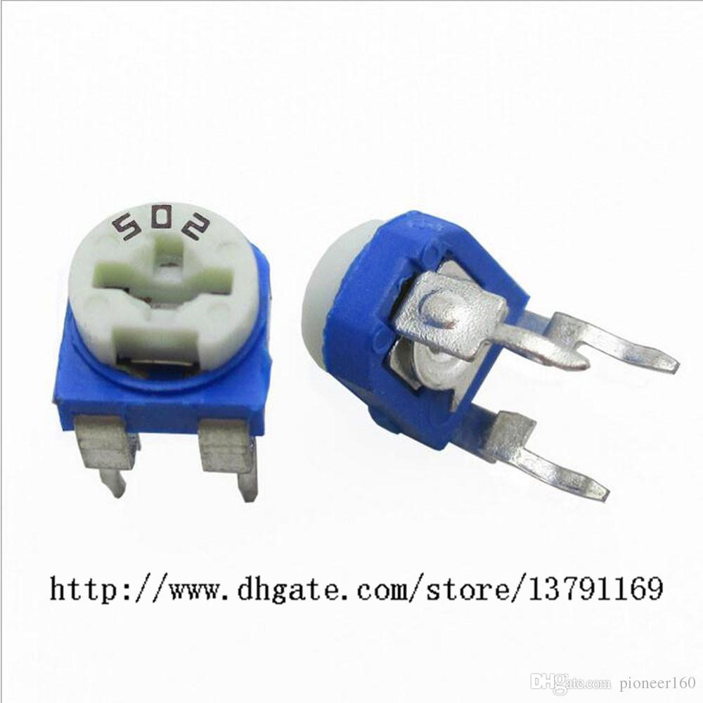 Variabler Widerstand Sortiert Kit 13 Wert 130pcs Trim Pot Potentiometer RoHS-kompatibel Top-einstellbare Widerstand elektronische Komponenten