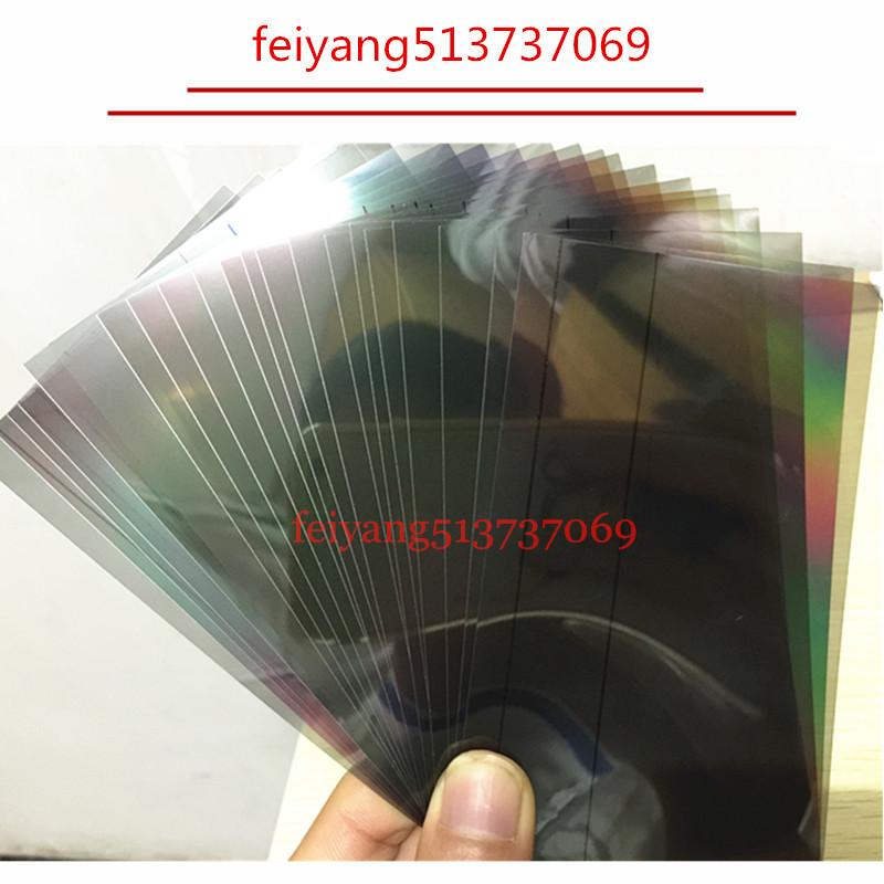 20pcs Original A quality 100% for iPhone 7g 7 plus 4 4s 5 5s 5c se 6 6s LCD Polarizer Film Polarization Light Film