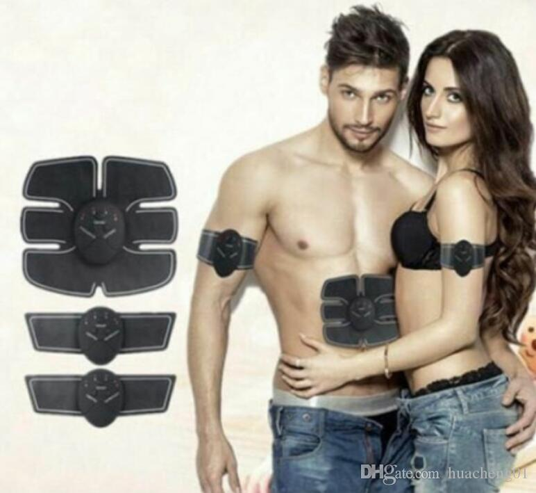 EMS Muskeltraining Toner Getriebe ABS Trainer Fit Übung Body Shape Fitness Massage Home Use durch DHL