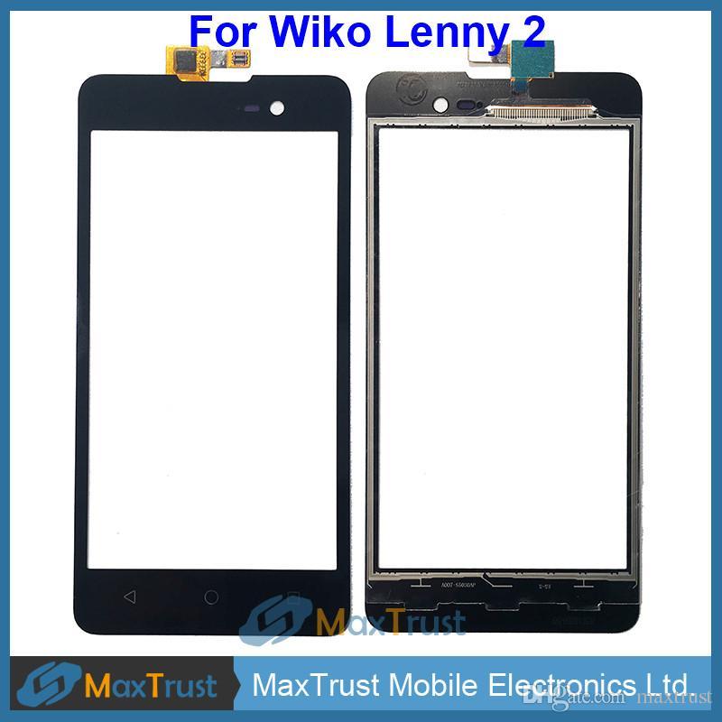 """Wiko Lenny 2 Lenny2 Dokunmatik Ekran Sayısallaştırıcı Ön Dokunmatik Cam Panel Sensörü Siyah Rengi için En Kaliteli 5.0"""""""