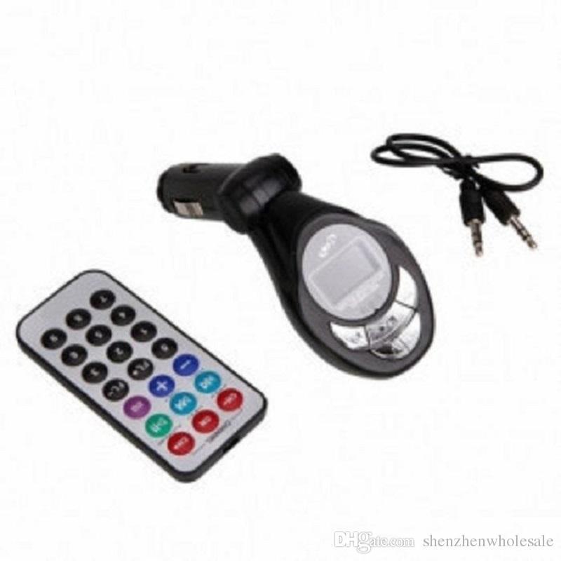 10set / lot سيارة وزير الخارجية الارسال سيارة كيت مشغل MP3 لاسلكي وزير الخارجية الارسال المغير USB SD CD MMC عن بعد XRC