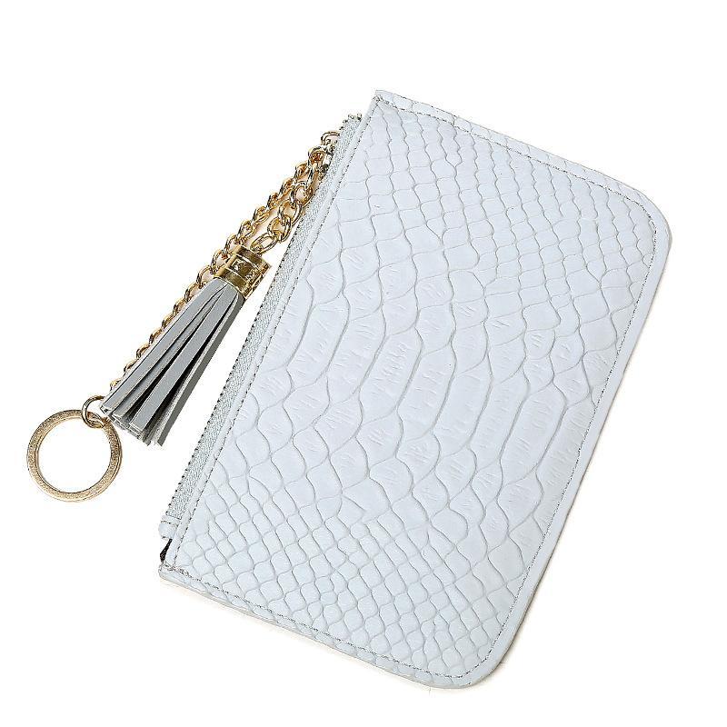 Atacado 2016 Cartão Chave New Tassel Coin Purse sacos de alta qualidade Ladies curto carteira PursesFor Mulheres