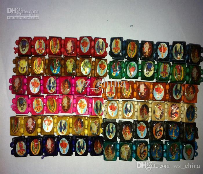 좋은 나무 예수님 팔찌 종교 나무 손 장식 보석 영국 스트레치 묵주 팔찌 팔찌 120pcs 잃는 돈 무료 배송