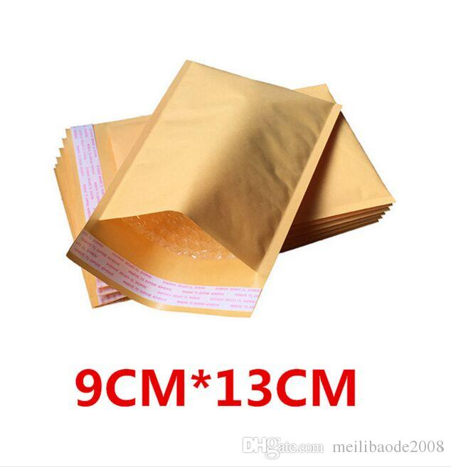 NEW 90 * 130 + 40mm 패딩 봉투 잡화 거품 우편물 크래프트 BUBBLE 우편물 우편 ENVELOPE BAG FREE SHIPPING MYY