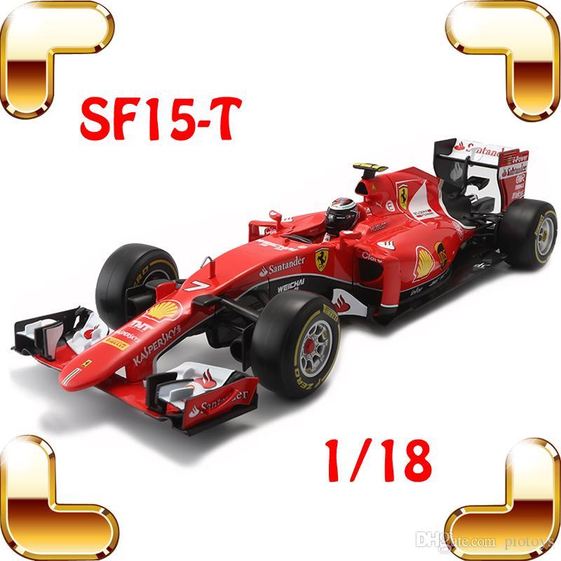 هدية السنة الجديدة SF15-T 1/18 المعادن نموذج سيارات الفورمولا سيارة جمع اللعب منزل الديكور سبيكة ضخمة سيارة الحاضر الكبير المتسابق لعبة