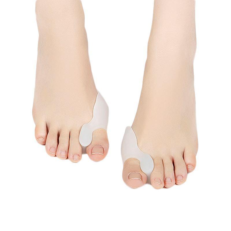 1 Paar Silikon Toe Separator Thumb Valgus Schutz Bunion Adjuster Hallux Valgus Schutz Gel finger Gesundheitswesen