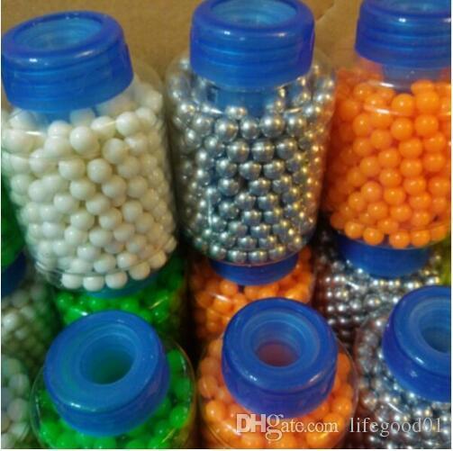 3600 шт./12 Bottle 0.12 г 6 мм жесткий пластик bb пистолет пейнтбол игрушка стальной цвет ПВХ мяч пистолет pallini для BB снайпер пистолетные пули