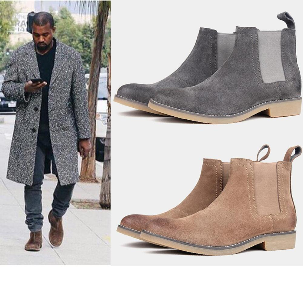 2019 New Style Men Mens Boots Leather