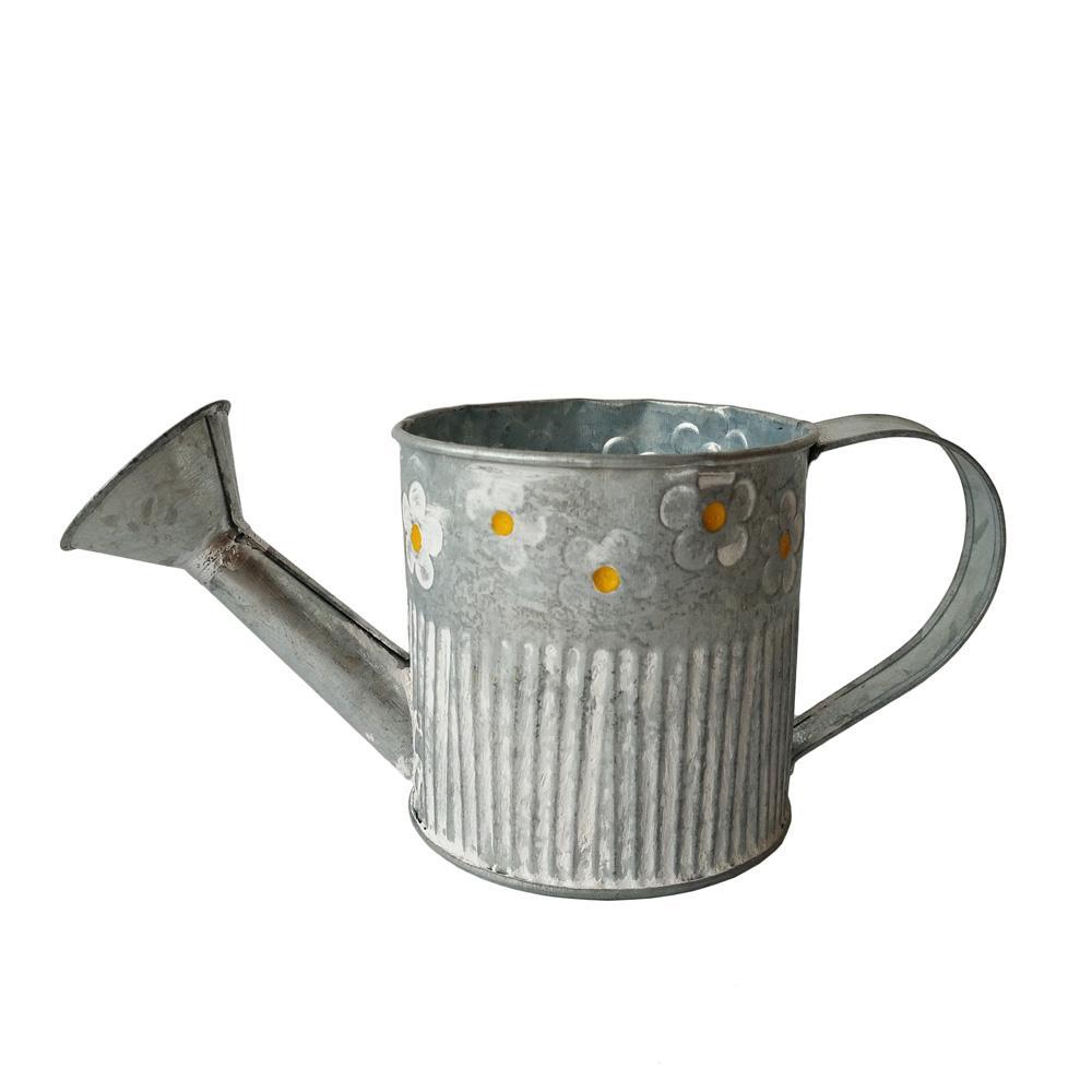 scatola di latta Annaffiatoio vaso da giardino benna trasporto libero vasi di ferro Fower pentola Giardino Ware Brocca d'epoca lattine di acqua antiche per fiori