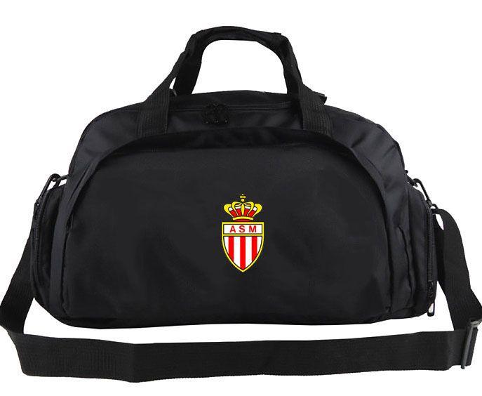 Acquista Borsone AS Monaco Borsa Tote Con Logo Del Club Di Qualità Zaino Da Nuoto Bagagli Da Calcio Borsone Da Spalla Da Allenamento Zaino Da Esterno ...