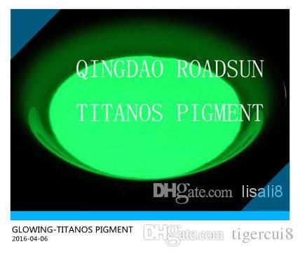 светящийся в темноте порошок 55-75um красивый желто-зеленый светящийся бесплатные образцы доступны коммерчески