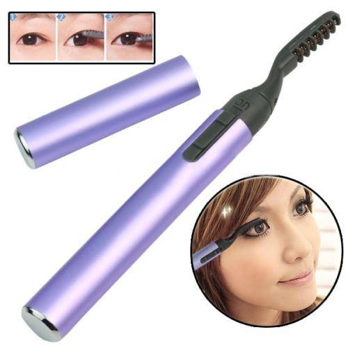 Kirpik Bigudi 67PL Kalıcı Toptan Sıcak Mor Taşınabilir Kalem Stil Elektrikli Isıtmalı Makyaj Göz Lashes Uzun