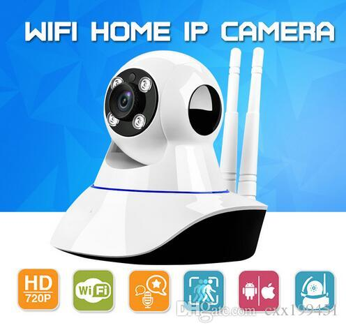 Home Security Wireless Mini IP Camera Surveillance Camera Wifi 720P Night Vision CCTV Camera Baby Monitor With the Retail Box