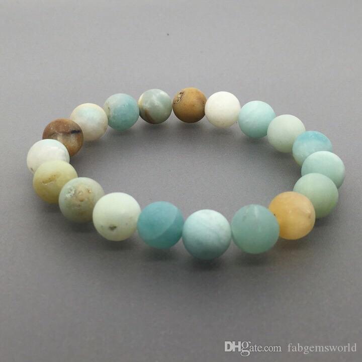 Amazonite and Silver Beaded Bracelet- amazonite amazonite bracelet amazonite bead bracelet handmade bracelet stretchy bracelet