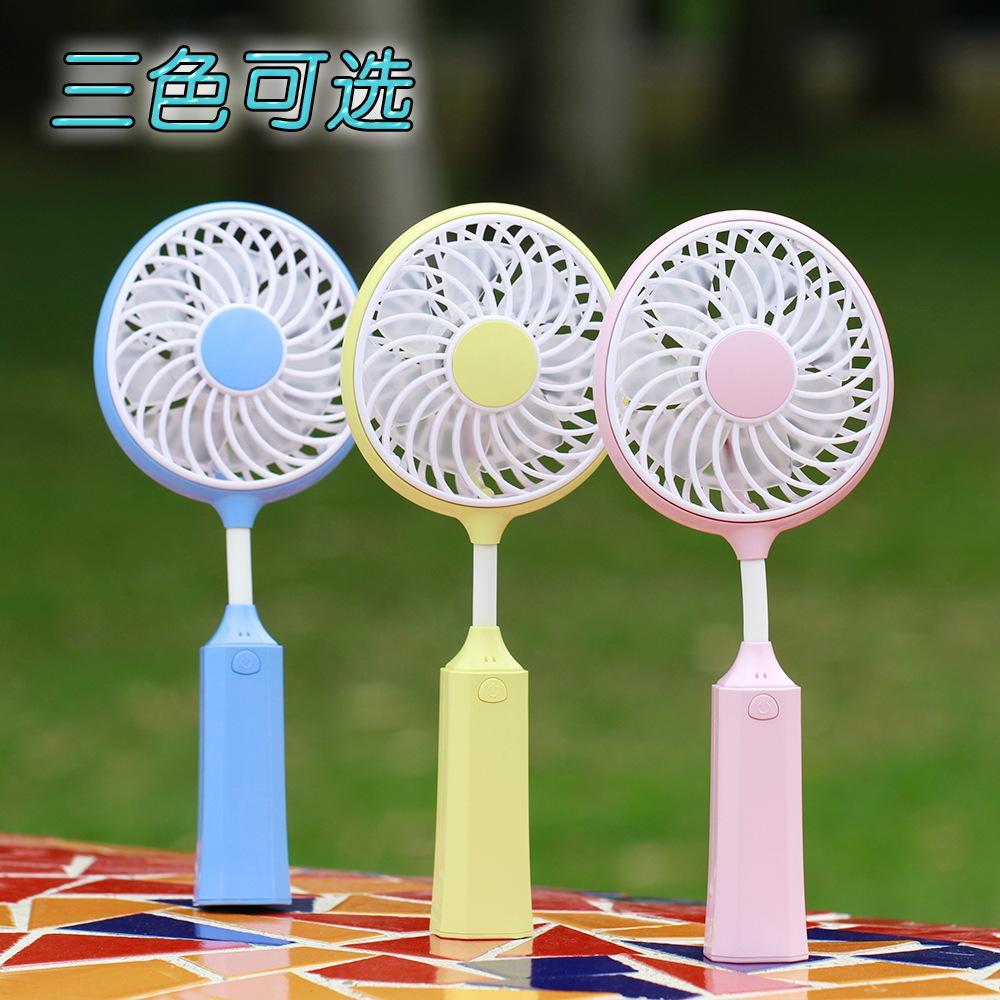 Novo badminton aplaudiu o ventilador recarregando o ventilador USB O mini ventilador portátil no verão do aparelho de pequeno porte
