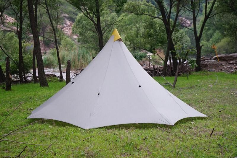 The glue not include it is not allowed to delivery.you can buy the both sides silicone glue in local. & Outdoor camping Teepee tent 4 person 4 season large ultralight ...