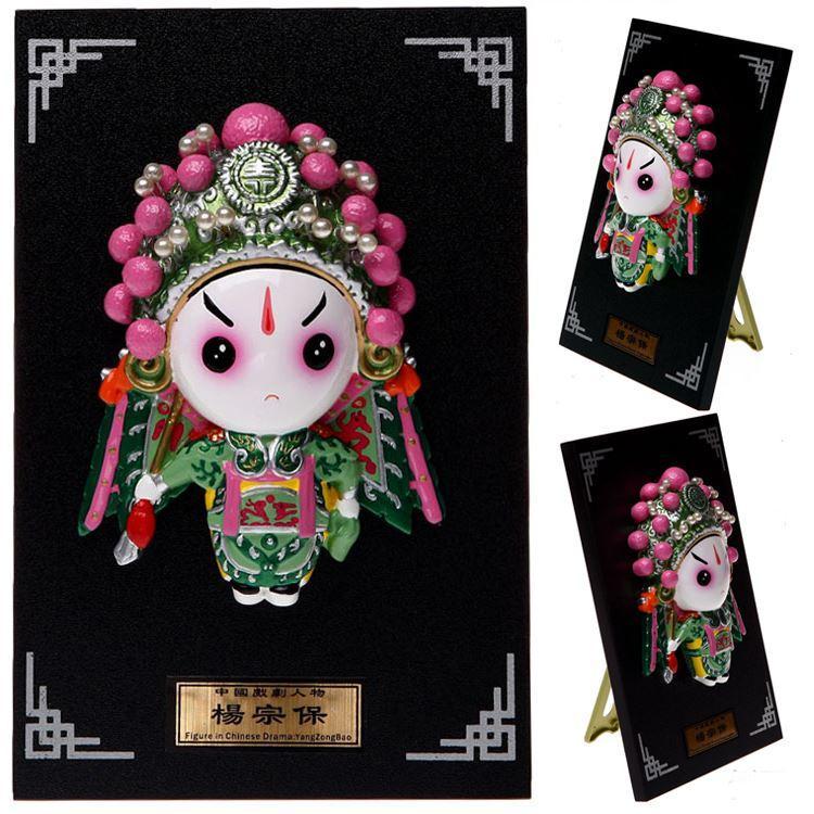 Piatto - Yang Zongbao opera Figura Ciondolo cartone animato Figurine Arredamento per la casa ornamenti affari all'estero per inviare regali agli stranieri