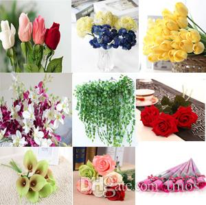 USD99 Order Artificial flowers Mix Color and Item, DHL/UPS/FEDEX/SF EXPRESS free shipping