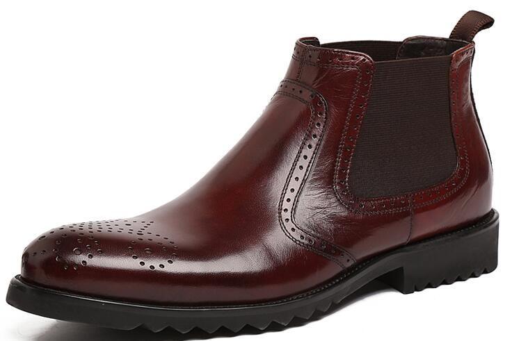 Brand Italain fashion mens shoes genuine leather slip on crocodile style business office designer male shoes men