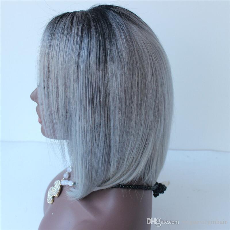 Grey Bob Wigs
