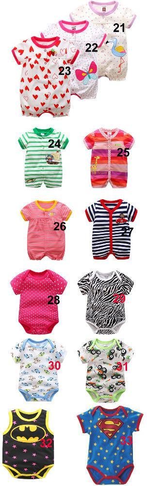 Mono de verano para bebés de manga corta Mono de 0-12 meses para bebés gratis