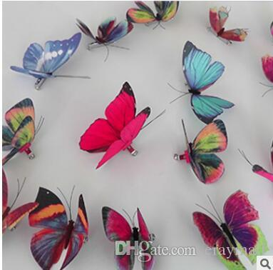 3D Stereo cloth art high simulation The butterfly brooch simulation accessories A brooch butterfly Three-dimensional butterfly pin