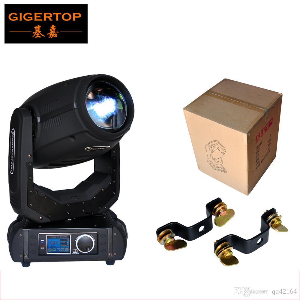 TIPTOP TP-10R Hot Sell 280W 10R Sharpy Strahl-bewegliches Hauptlicht mit O-S-R-A-M-Lampe 16 / 24DMX Kanäle 8 Facet Prism Bühnenscheinwerfer