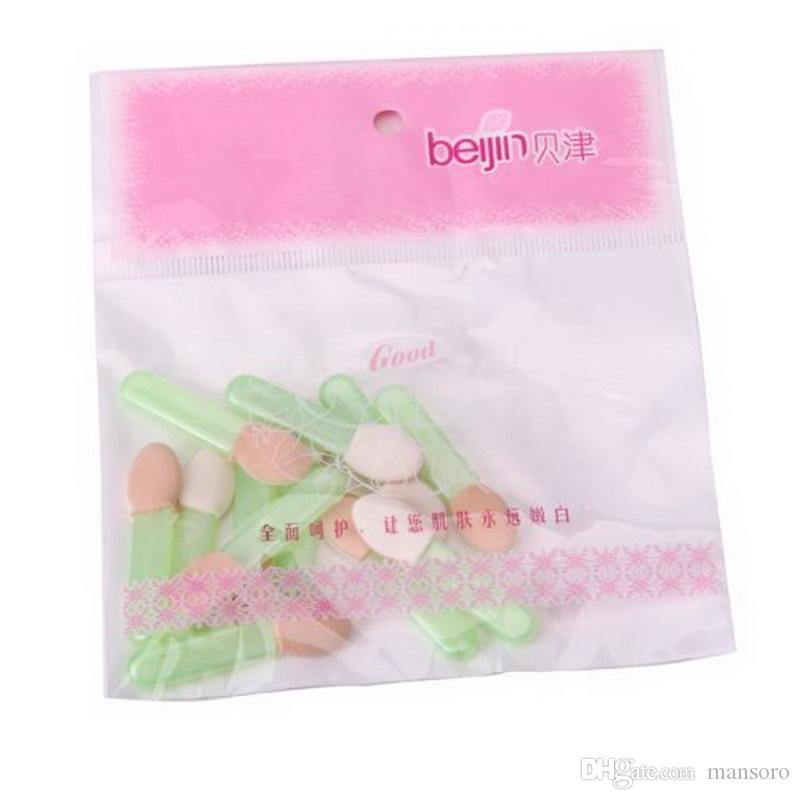 12pcs / Lot Disposable Sponge One Ended Latex Eye Shadow ...