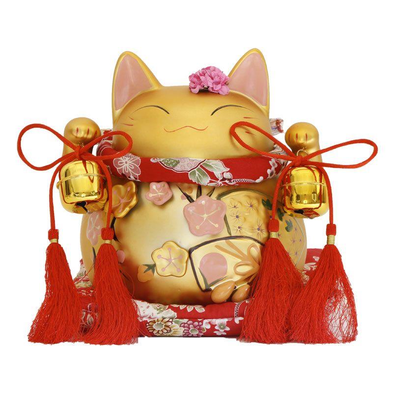 Matt ornamenti gatto giovane ha aperto grande vaso di ceramica per la casa Arredamento creativo ornamenti in ceramica