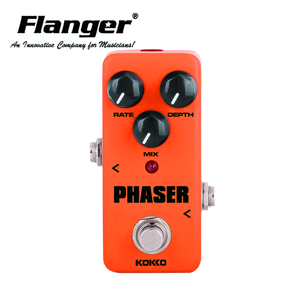 KOKKO FPH2 Vintage Phaser Electric Guitar Effect Pedal With True Bypass Guitar Part& Accessory
