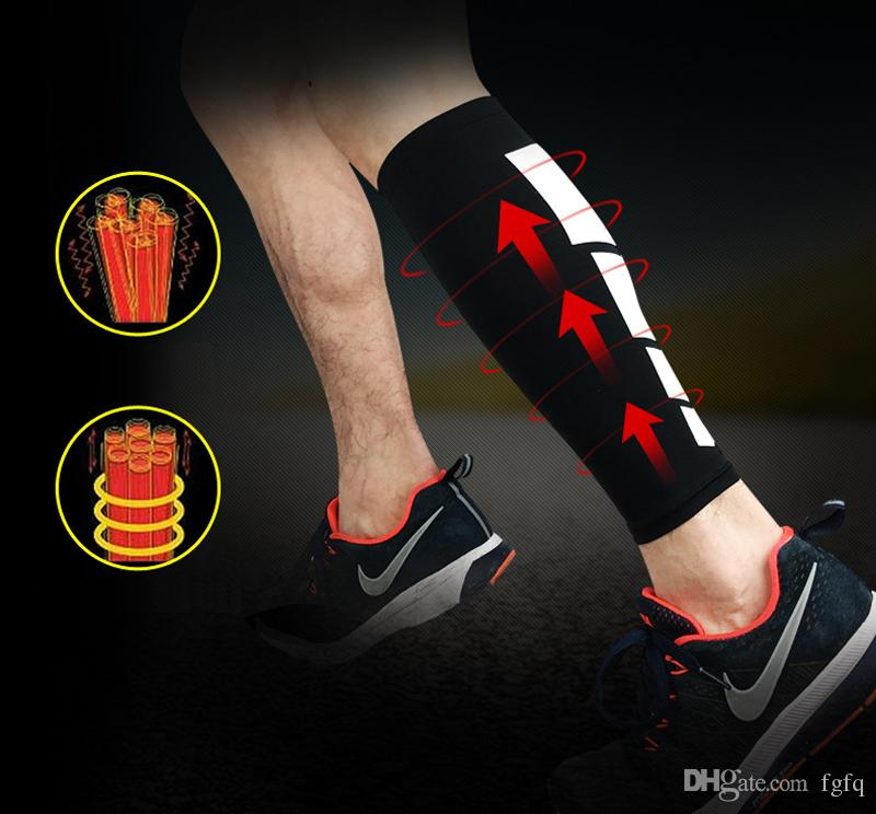1PCS Cycling Leg Warmers - 4 Colors Men Women Sport Compression Socks Leg Sleeve Shin Guard - Running Football Basketball Leg Protection