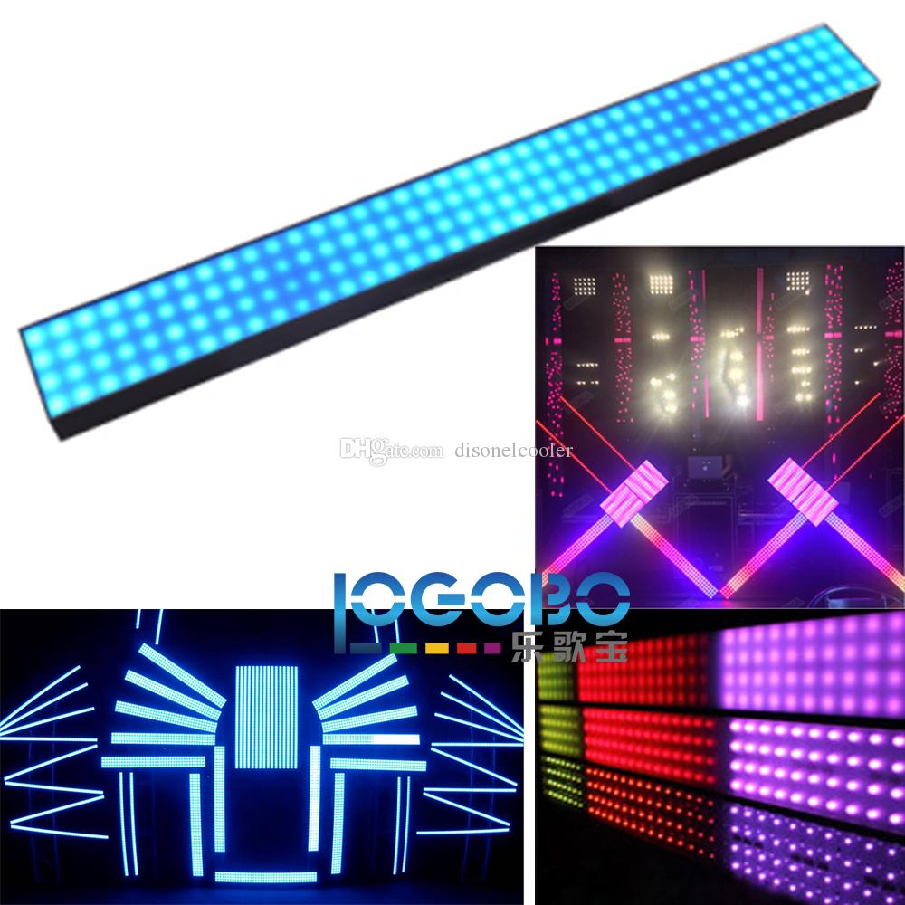 Beautiful Dream Color LED Strip Light with Art-Net & Kling-Net & DMX Control Protocol Milky Frosted Clear Cover for Choice Disco Club Lights