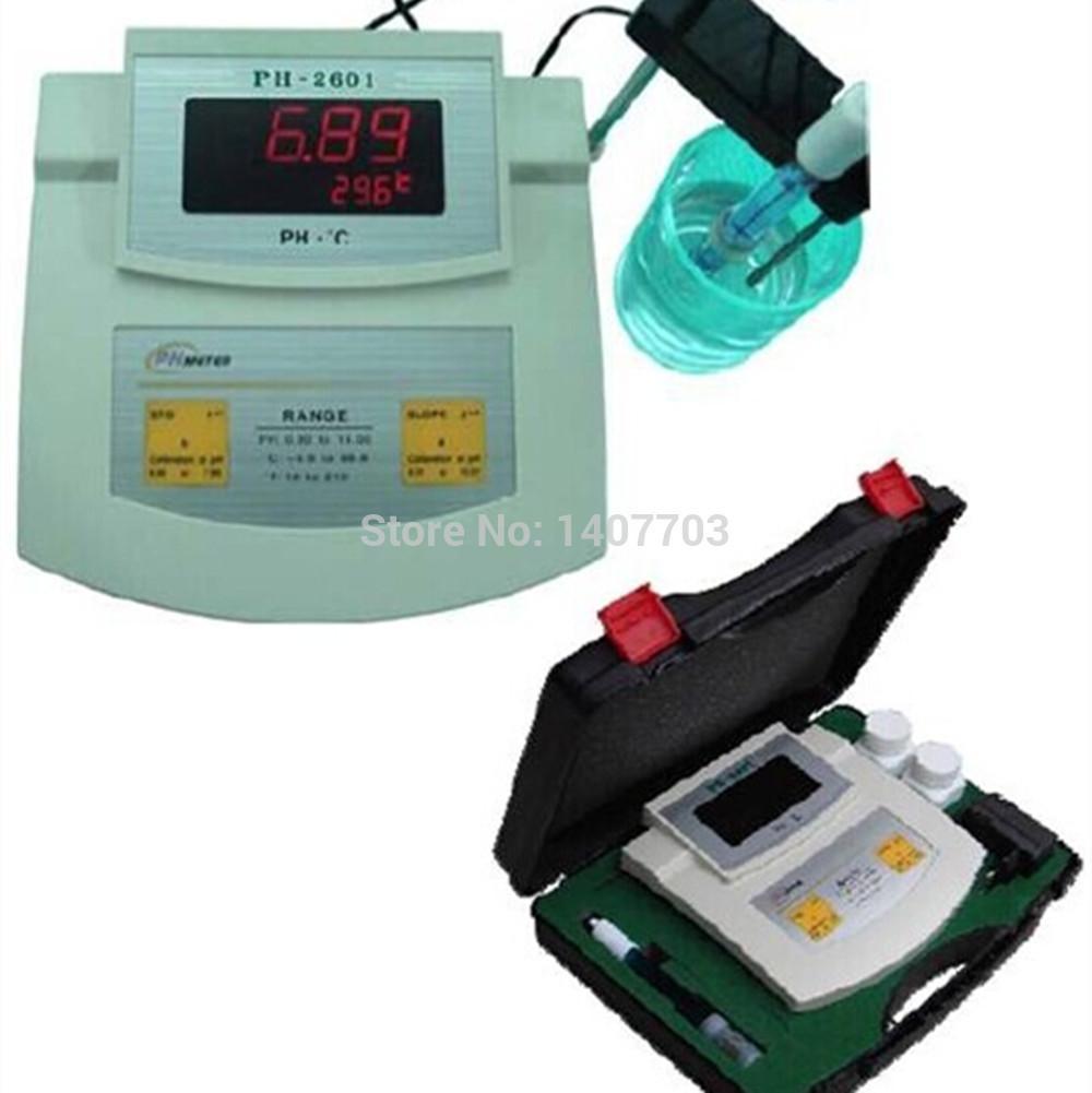 Misuratore di temperatura pH da laboratorio digitale Wholesale-Table Top