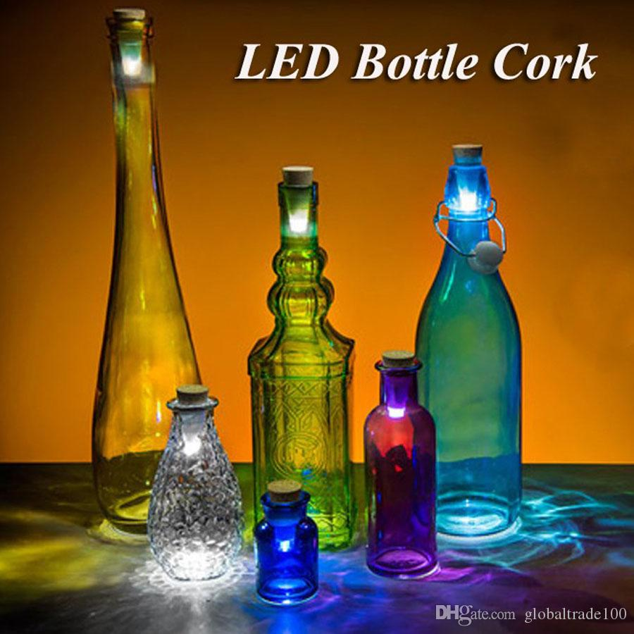 Originality Best Light Cork Shaped Rechargeable USB Bottle Light Multicolor LAMP Cork Plug Wine Bottle USB LED Night Light