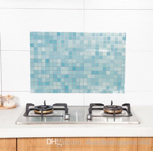 70 * 45 cm Cucina Adesivo olio stagnola Decal bagno adesivi murali Home Decor Art Accessori Decorazioni