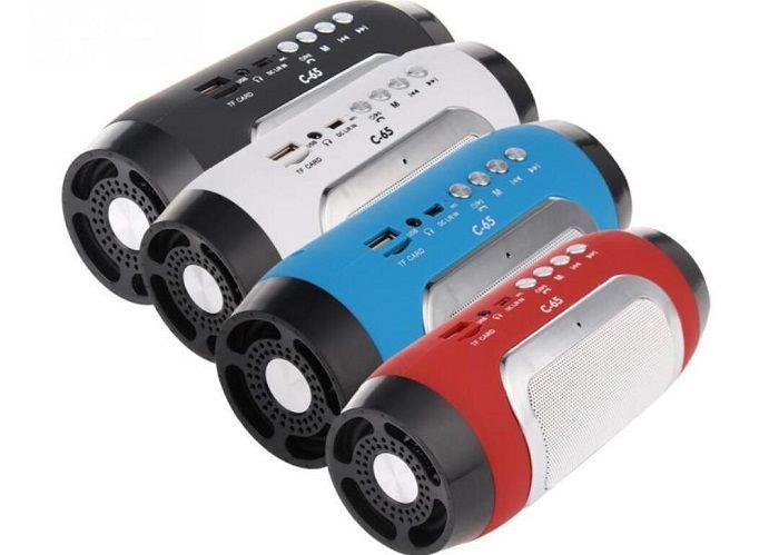 C-65 speaker سماعات البلوتوث اللاسلكية الجديدة الإبداعية البسيطة ستيريو بلوتوث الهاتف المحمول مضخم صوت DHL الشحن