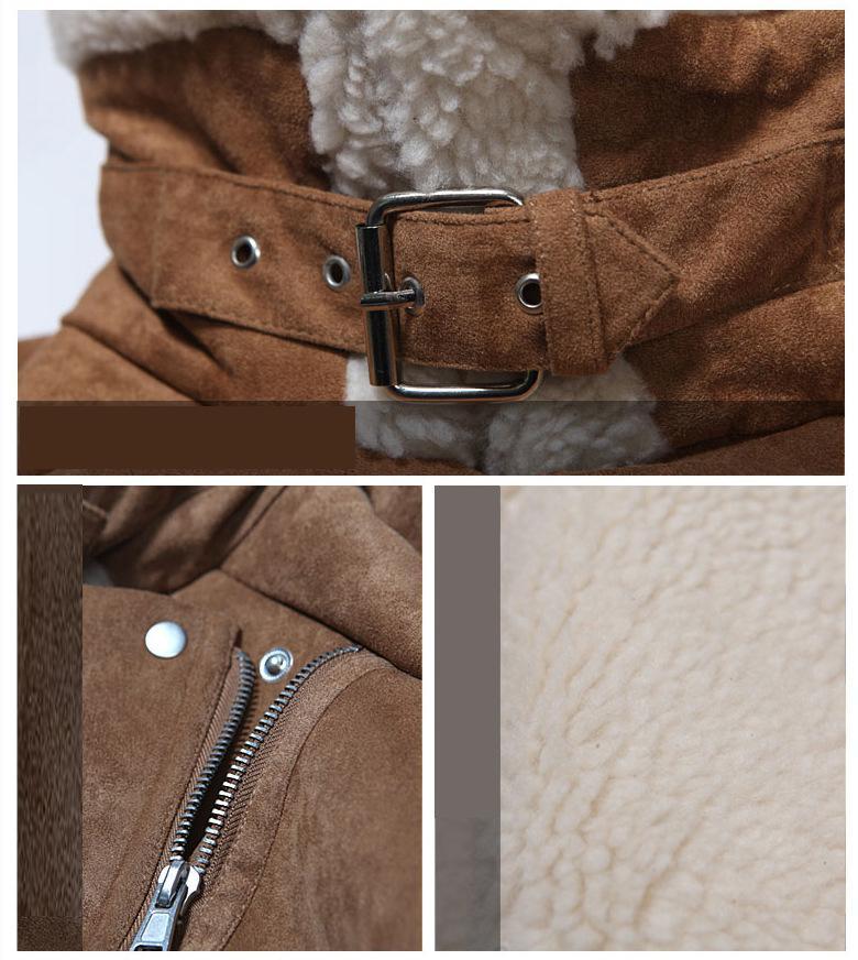 2016 Pu Leather Bomber Jacket Men Winter Fashion Wool Fur Design Mens Slim Motorcycle Biker Jacket Casual Veste Cuir Homme