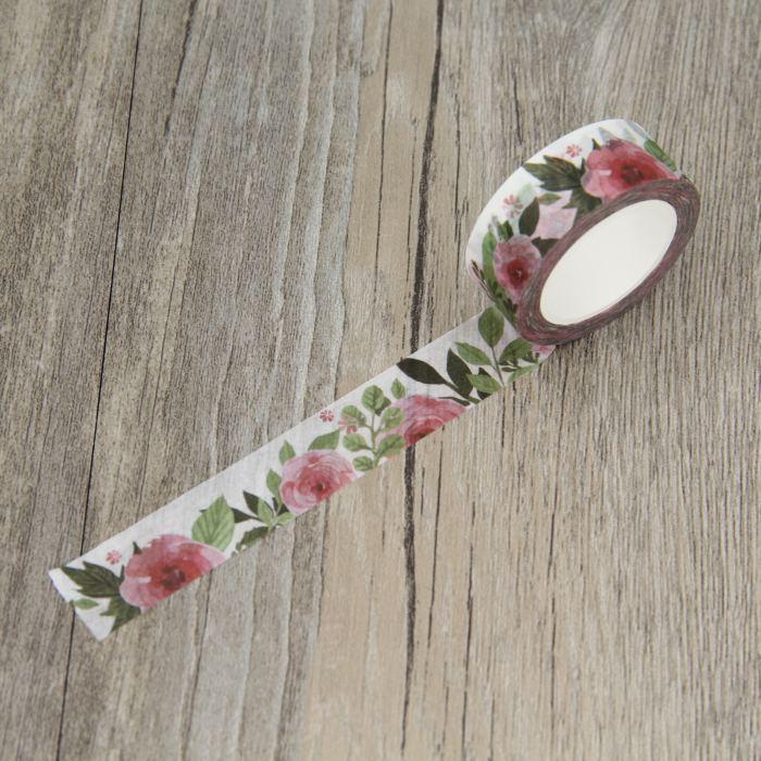 All'ingrosso 2016 Camellia Flower Washi nastro floreale nastri protettivi adesivi decorativi di Deco del diario Scrapbooking Sticker