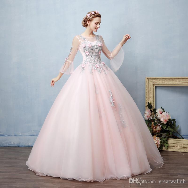 100% Gerçek Açık Pembe Gümüş Nakış Çiçekler Boncuk Mahkemesi Balo Ortaçağ Elbise Rönesans Kıyafeti Victoria Belle Balo
