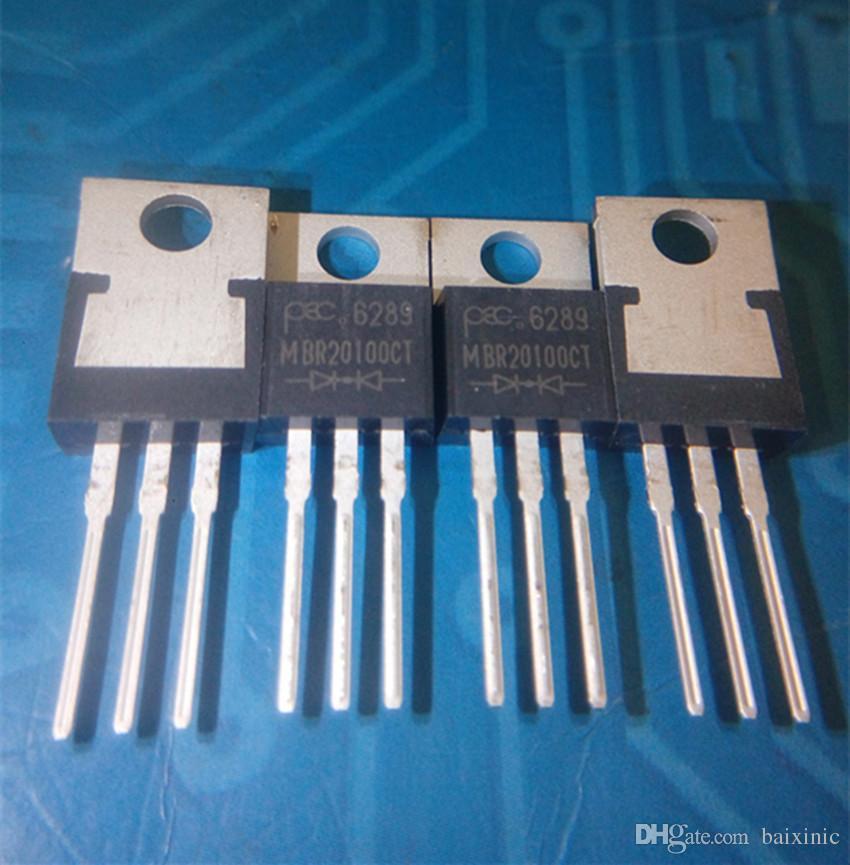 Оптовая продажа 10 шт./лот MBR20100 MBR20100CT диод массив Шоттки 100 в TO220 на складе новый и оригинальный ic бесплатная доставка