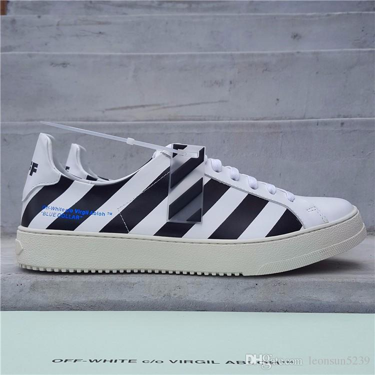 Off White Casual Shoes Men Small White
