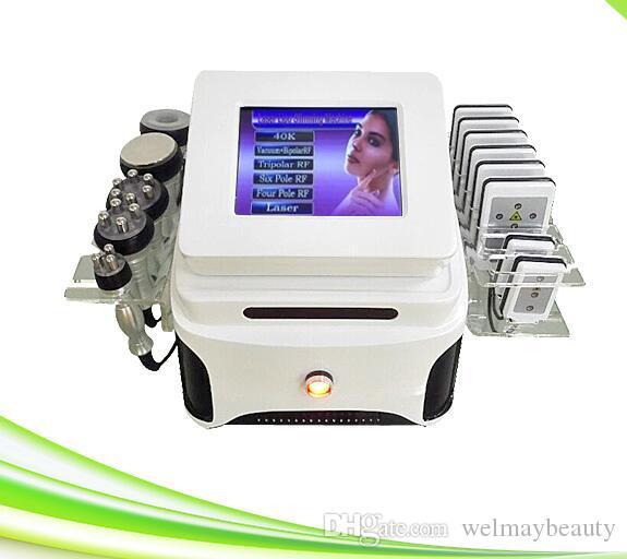 professional spa clinic salon use vacuum cavitation rf lifting vacuum cavitation lipo laser lose weight system