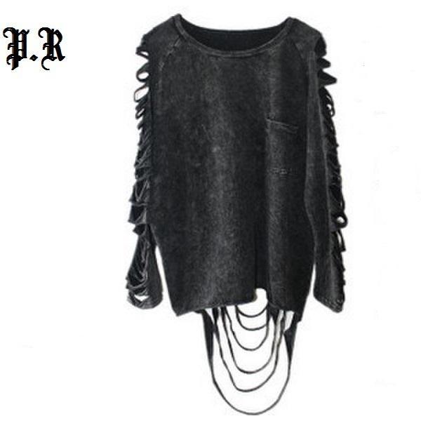 Toptan-t gömlek kadın üstleri tshirt camisetas y ropa mujer camisetas femininas roupas Tops Punk Rock Pok kadın Giyim giysi