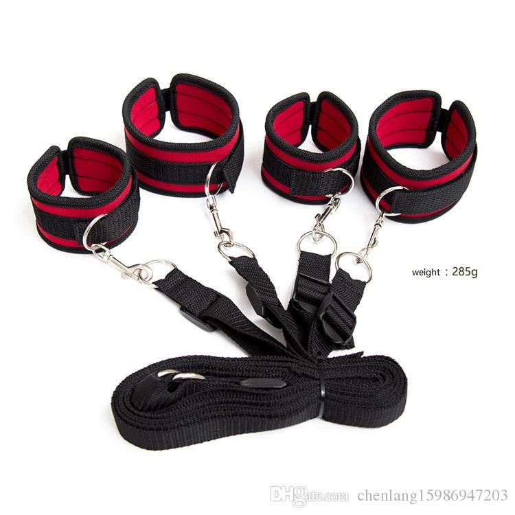 Pre-Fashion Head&feet Tied Leg Lifts Bound Insert Sexuelstoys Neck For Easy Pull BDSM Adults Nylon S&Mjouets To Ixhps