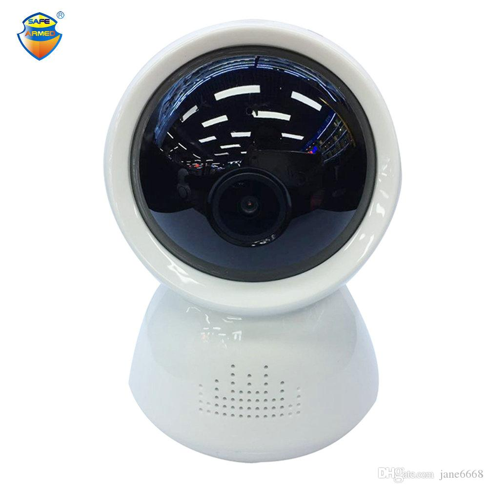 Pour la livraison gratuite V380 Full-HD 1080P WIFI caméra IP infrarouge dôme intérieur IR-Cut Two Way Talk Surveillance Onvif caméra