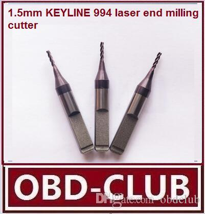 "2pcs/lot Bianchi B994 ""F"" Jaw cutter 1.5mm KEYLINE 994 laser end milling cutter 33.401.C00.V"